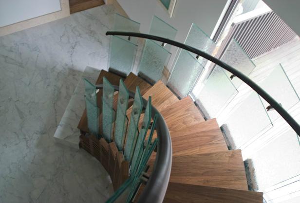 Martel Design U0026 Fabrication | Architectural Metalwork | * Half Spiral  Staircase